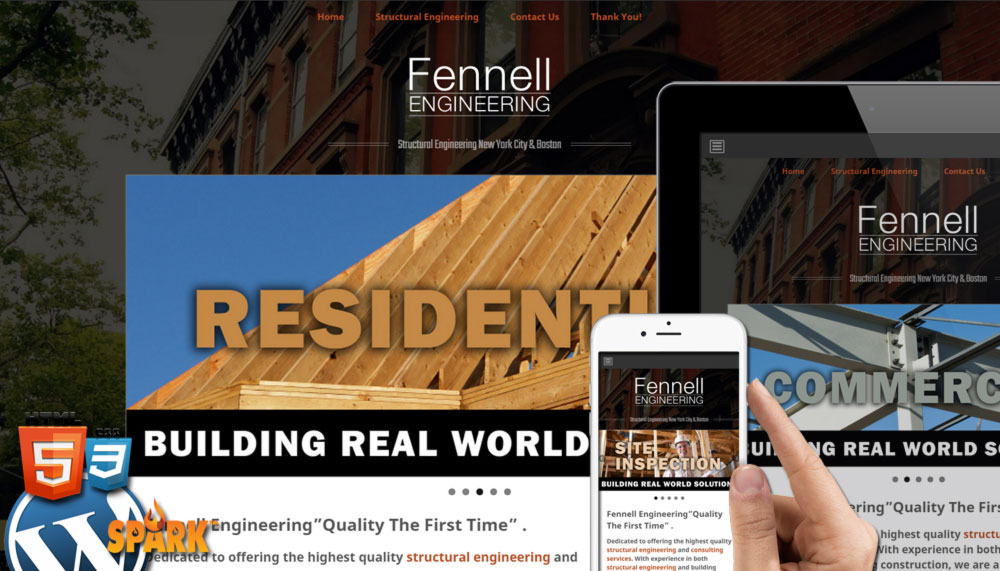 Fennell Engineering – Website