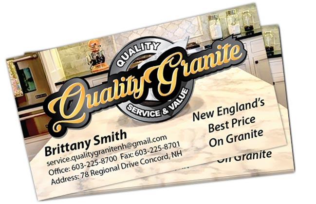Quality Granite – Branding