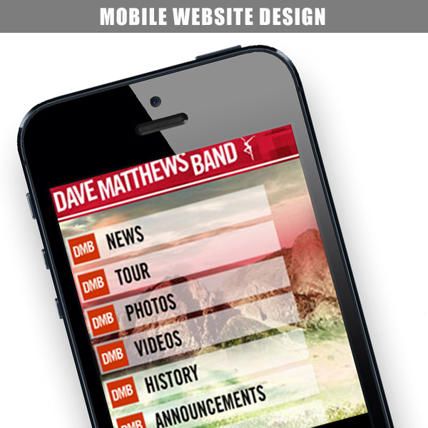 DMB – Mobile Website