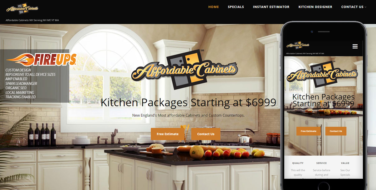 Affordable Cabinets – National Brand
