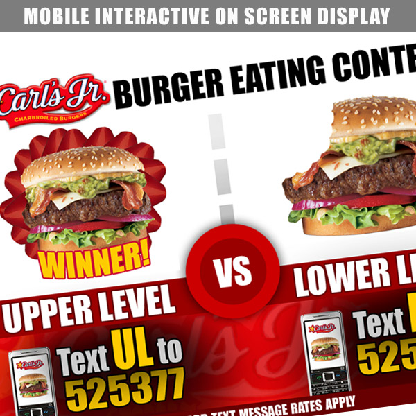 Carls Jr Mobile Marketing