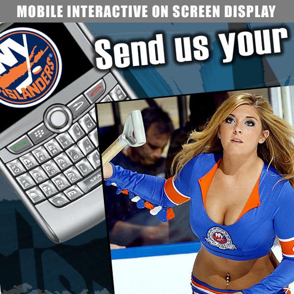 NY Rangers -Mobile Interactive Design