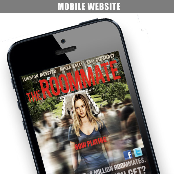 The Roommate – Mobile Website