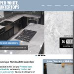 Super White Countertops -Website